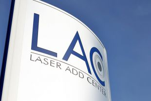 Figure: Company logo of LAC Laser Add Center GmbH